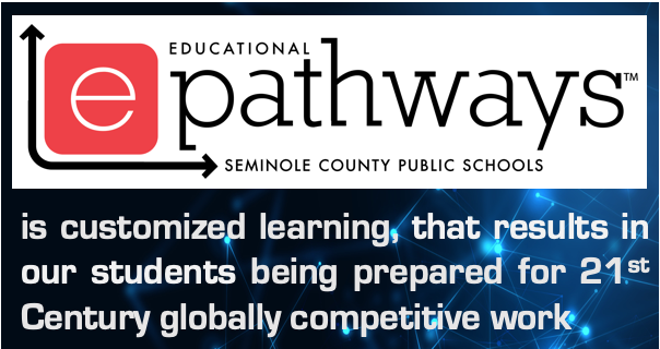 ePathways is customized learning that results in our students being prepared for 21st Century globally competitive work.