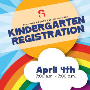 Kindergarten Registration Begins April 4