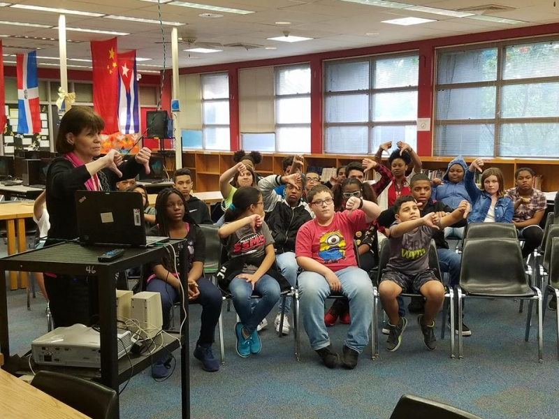 Students voting: Thumbs up or thumbs down?