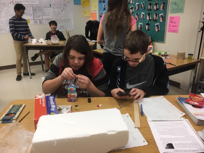 Greenwood Lakes STEM Challenge with NASA